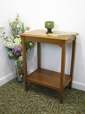 Antique Oak Hall Table, Lamp stand, display shelf, side table  Northants