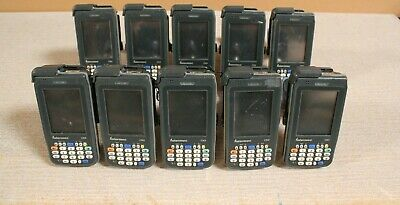 LOT OF 10 Intermec CN3 Hand Held Mobile Computer/ Barcode Scanner @A80
