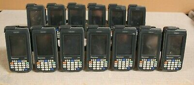 LOT OF 13 Intermec CN3 Hand Held Mobile Computer/ Barcode Scanner @A80