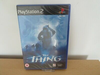 The Thing Sony Playstation 2 PS2 new sealed pal version