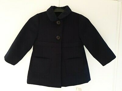 Mothercare Baby Girls Coat 12-18 months BRAND NEW Navy Jacket £26 RRP Button