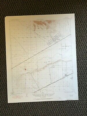 Vintage USGS Stoval Arizona 1930 Topographic Map 1950