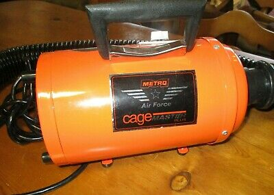 METRO CageMaster Plus Cage Dryer and Forced Air Dog Dryer, 4.0 HP