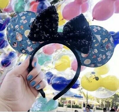 Disney Parks Designer Loungefly Minnie Mouse Ears Headband Limited Released 9/6