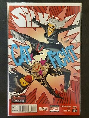 Silk #3 (2015) NM Marvel Comics 1st Print