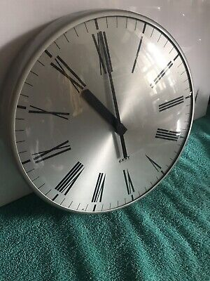 Vintage Gent Clock Office Factory School Pub Clock