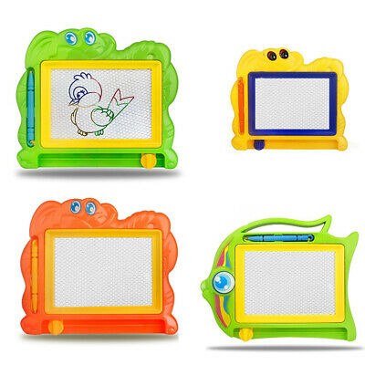 Magnetic Drawing Board Sketch Pad Doodle Writing Craft Art for Kids Children
