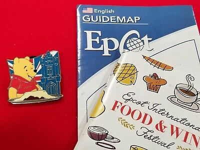 Disney Mystery Box Pin EPCOT 2019 International Food & Wine Festival Pooh