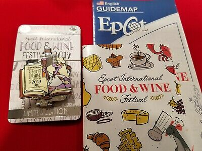 Disney Pin EPCOT 2019 International Food & Wine Festival Passholder Figment
