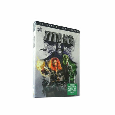 Titans Season 1 (DVD, 3-Disc Set) Free Shipping