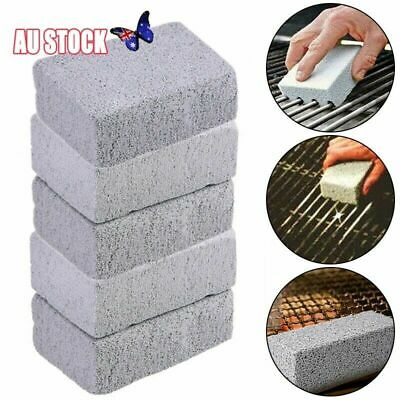 5x Grill Brick Pumice Cleaning Stone Griddle Grill Cleaner Stones Top Plate New