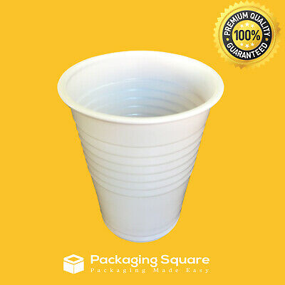 180ml White Water Cold Drink Cups |Party| |Office| |Home| |Cafe| |Play Centres|
