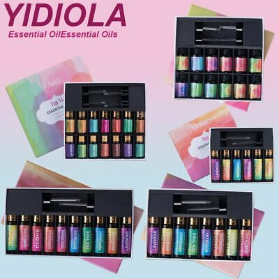 YIDIOLA TOP Set Essential Oil Natural Aromatherapy Essential Oils Diffuser Kit