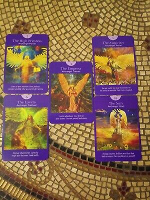 5 Card Tarot Reading Angel Tarot Intuitive Psychic Very Accurate In-Depth