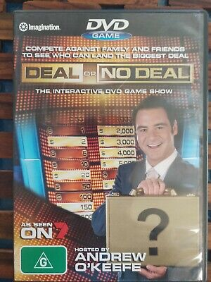 Deal or No Deal - PC DVD ROM - Hosted by Andrew O'Keefe