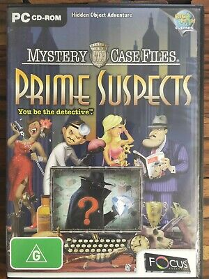 Mystery Case Files - Prime Suspects - PC CD-ROM - Hidden Object Game