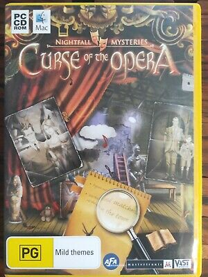Curse of the Opera - PC CD-ROM - Hidden Object Game