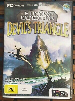 Hidden Expedition - Devil's Triangle - PC CD-ROM - Hidden Object Game