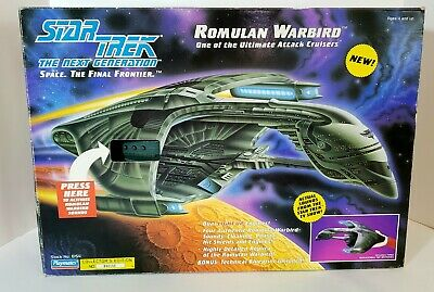 Star Trek TNG ROMULAN WARBIRD Coll. Ed 1993 Playmates DISPLAYED ONLY ADULT OWNED