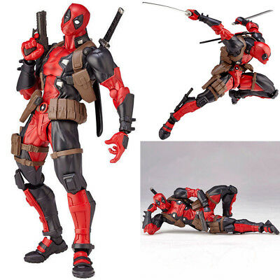 Amazing Marvel Revoltech DEADPOOL X-Men Action Figure Toy Gift New with box