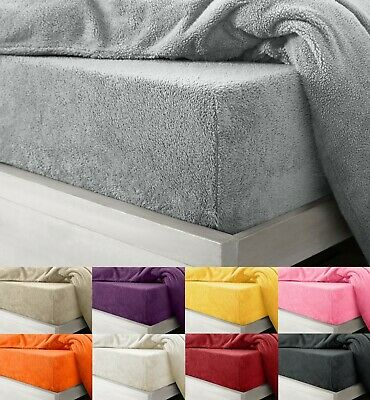 Super Plush Teddy Bear Warm Fuzzy Cuddly Fleece Thermal Bedding Fitted Sheets