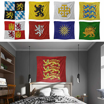 Middle Ages Coat of Arms Tapestry Emblem Banner Wall Hangings 1 x 1.25m Wall Art