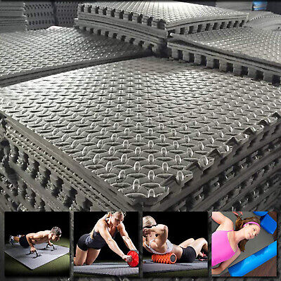 Interlocking Mat Yoga Exercise Gym Gymnastic Soft Foam Floor Mats Fitness EVA