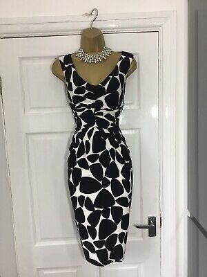 research phase 8 black and white dress
