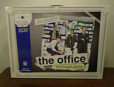 The Office DVD Board Game Trivia Dunder Mifflin NBC Pressman Games 2008 Complete