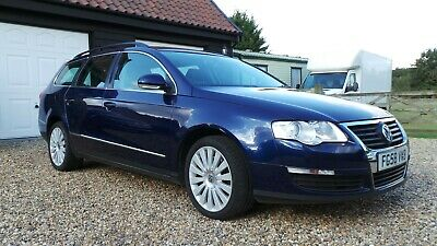 Volkswagen  Passat Highline Estate 2.0 Tdi 140Bhp 6 Speed  2008 84K Fsh Super