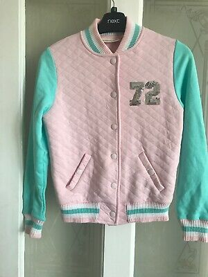 Girls Jacket - Age 11-12 Years - Tammy Girl - Pink / Green