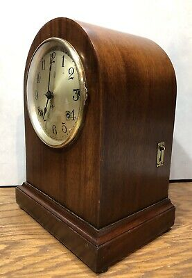 Seth Thomas 4 Rod Sonora Chime Mantle Table Bracket Shelf Clock