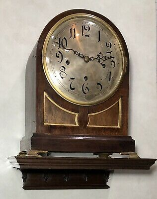 J E Caldwell Winterhalter & Hofmeier W&H German Westminster Bracket Clock Shelf