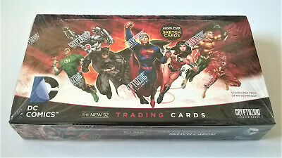 2012 Cryptozoic DC Comics: The New 52 Trading Card Box (FACTORY SEALED)