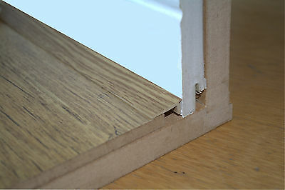 Floor Edge Trim 1 Meter Lengths Various Colours Allows For Floor Expansion