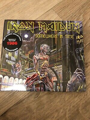 iron maiden somewhere in time CD. Collectors Edition CD Only