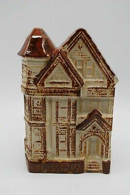 Vintage Counterpoint San Francisco Victorian House Wall Pocket/Planter