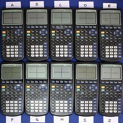 Choose One - TI-83 Plus Graphing Calculator Texas Instruments TI83+