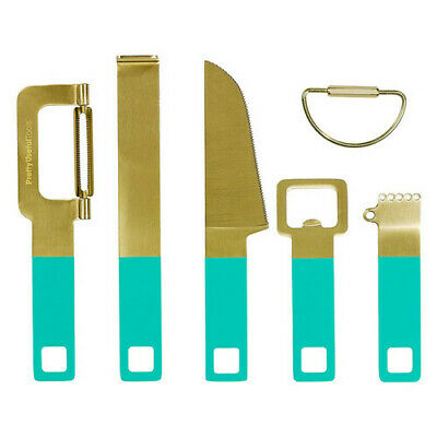 Pretty Useful Tools Cocktail Tool Set (Tropical Topaz)