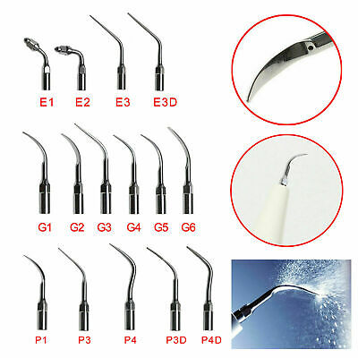 27 Types Dental Ultrasonic Scaler Scaling Endo Perio Tips Fit SATELEC DTE NSK