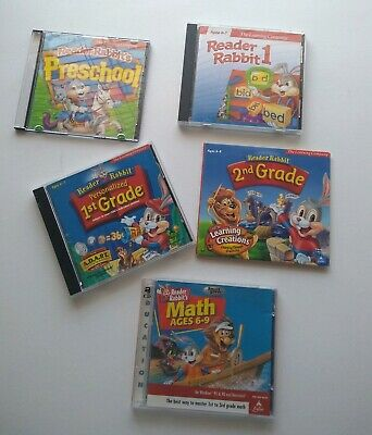 Reader Rabbit 1st Grade Classic (Jewel Case). The Learning Company