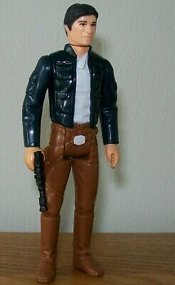 Vintage Star Wars Han Solo Bespin figure with weapon from 1980