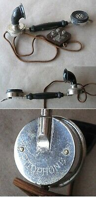 Antique French Telephone Phone Receiver