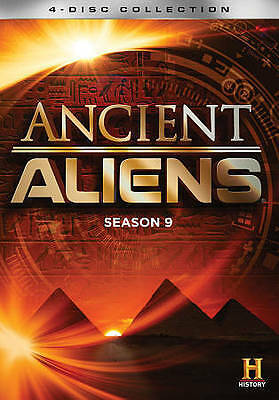 New & Sealed Ancient Aliens: Season 9  (2016, DVD ) FREE shipping