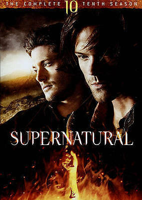 New & sealed SUPERNATURAL SEASON 10 DVD (FREE SHIPPING)