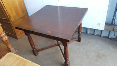 1930's Oak Draw Leaf Table