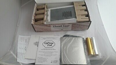 Couture Creations GoPress and Hot Foil Machine - NEVER USED - ONLY OPENED
