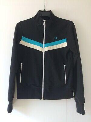 Original Women's Fred Perry Tracksuit Top Size 14
