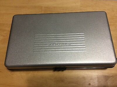 Atlantic 30 Cd Dvd Storage Case Metal