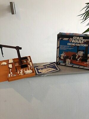 Star Wars Droid Factory Playset inkl. Box 1978
